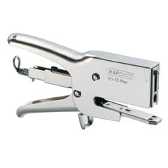 View more details about Rapesco HD-73 Heavy Duty Plier Capacity 20 Sheets Silver 1169
