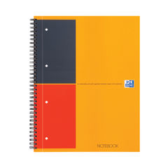 View more details about Oxford International A4 Plus Wirebound Hardback Notebook 100104036