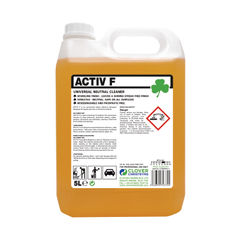 View more details about Clover 5 Litre Active F Neutral Cleaner (Pack of 2) – 403