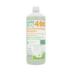View more details about Clover 1 Litre 490 Dishwashing Detergent (Pack of 12) - 490