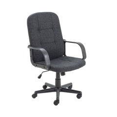 View more details about Jemini Jack 2 Charcoal Fabric Executive Office Chair