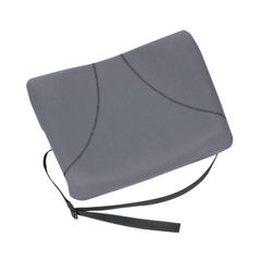 View more details about Fellowes Graphite Slimline Back Support - 9190901