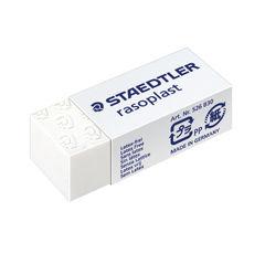 View more details about Staedtler Rasoplast Plastic Eraser (Pack of 30) 526-B30