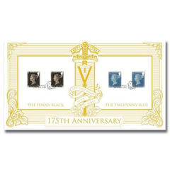 View more details about 175th Anniversary of the Penny Post Stamps First Day Cover – BC522A