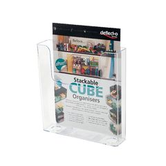 View more details about Deflecto A5 Flat Back Literature Holder - DE76301