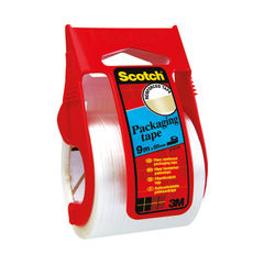 View more details about Scotch 50mm x 9m Reinforced Packaging Tape and Dispenser - X.5009D
