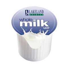 View more details about Lakeland Full Fat Milk Pots, Pack of 120 - A01982