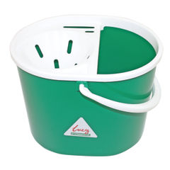 View more details about Lucy 15 Litre Green Mop Bucket - L1405293