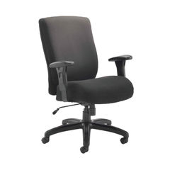 View more details about Avior Lomond Black Heavy Duty Office Chair