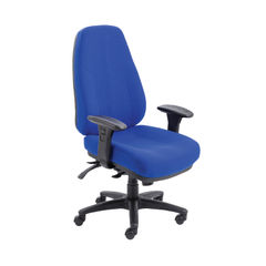 View more details about Avior Lucania Blue High Back Task Office Chair