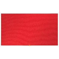 View more details about Nobo 1220 x 690mm Red Widescreen Felt Noticeboard - 1905312