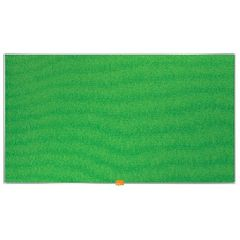 View more details about Nobo 890 x 500mm Green Widescreen Felt Noticeboard - 1905315