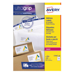 View more details about Avery Ultragrip Laser Labels 99.1x33.9mm White (Pack of 1600) L7162-100