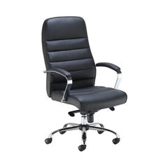 View more details about Jemini Ares Black PU Executive Office Chair