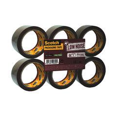View more details about Scotch 48mmx66m Brown Packaging Tape, Pack of 6 - 3120B4866