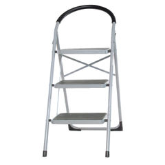 View more details about White 3 Tread Step Ladder - 359294