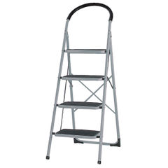 View more details about White 4 Tread Step Ladder - 359295