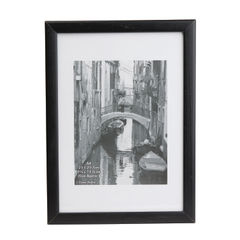 View more details about TPAC Photo Black Wood Non-Glass Frame A4 PAWFA4B-BLK