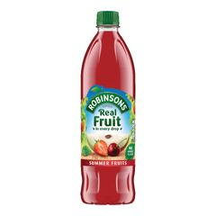 View more details about Robinsons 1 Litre No Added Sugar Summer Fruits Squash - 206937