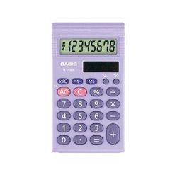 View more details about Casio SL-460 Pocket Calculator SL-460L-S-UP