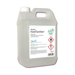 View more details about 2Work Hand Sanitiser 5 Litre Gel