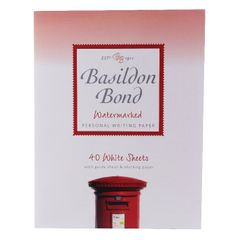 View more details about Basildon Bond Writing Pad 178 x 229mm White (Pack of 10) 100103860
