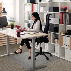 View more details about Floortex 1190 x 890mm Rectangular Carpet Chair Mat - 118923ER