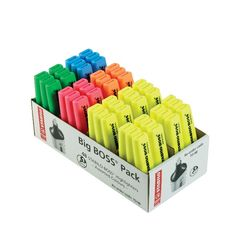 View more details about STABILO BOSS Original Assorted Highlighters, Pack of 48 - 70/48-1