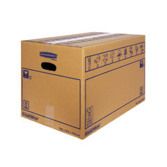 View more details about Bankers Box SmoothMove 350 x 350 x 350mm Brown Standard Moving Boxes, Pack of 10 - 6207301