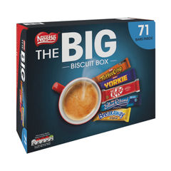 View more details about Nestle Big Biscuit Box Milk Chocolate 71 Biscuits Selection - 12313923