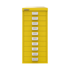 View more details about Bisley 590mm Canary Yellow 10 Drawer Cabinet - BY78744