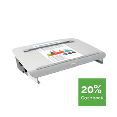 View more details about Fellowes Hana Writing Slope Adjustable Position Grey 8065801