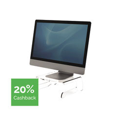 View more details about Fellowes Clarity Monitor Riser - 9731001