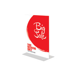 View more details about Announce Stand Up A4 Sign Holder DF47801