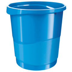 View more details about Rexel Choices Blue Waste Bin - 2115619