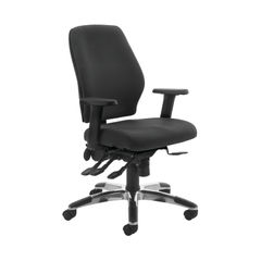 View more details about Cappela Agility Black High Back Posture Office Chair