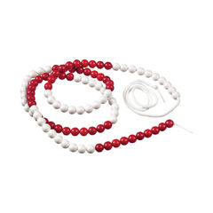 View more details about Linex 100 Arithmatic String 150cm White/Red 400065109