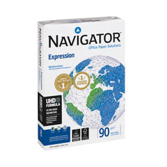 View more details about Navigator A3 Expression Paper 90gsm (Pack of 500) NAVA390