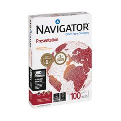View more details about Navigator White A3 Presentation Paper 100gsm (Pack of 500) - NAVA3100