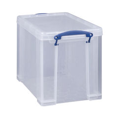 View more details about Really Useful 19 Litre Clear Plastic Storage Box - 19C