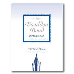 View more details about Basildon Bond Writing Pad 137 x 178mm Blue (Pack of 10) 100100123