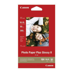 View more details about Canon 10 x 15cm Glossy Photo Paper, 265gsm, Pack of 50 - 2311B003