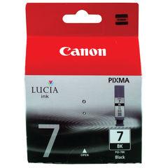 View more details about Canon PGI-7BK Black Ink Tank - 2444B001