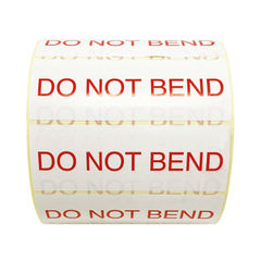 View more details about Do Not Bend Thermal Transfer Labels 101mm x 36mm 1000 Per Roll MA07626