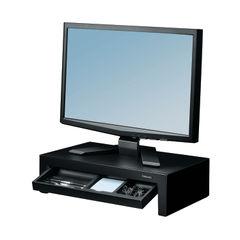 View more details about Fellowes Black Designer Suites Monitor Riser - 8038101