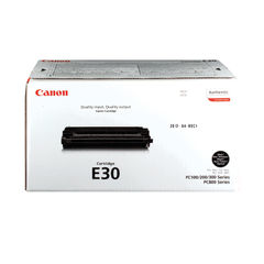 View more details about Canon E30 Black Toner Cartridge - 1491A003