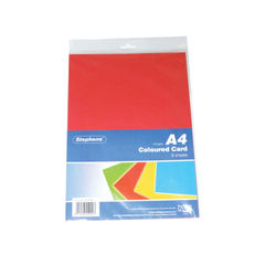 View more details about Stephens Assorted Coloured Card (Pack of 80) – RS232451