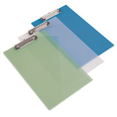 View more details about Rapesco Clipboard Frosted Transparent Assorted (Pack of 10) SHP PCBAS