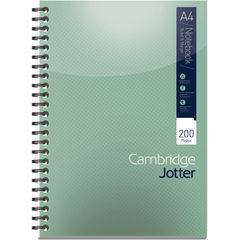 View more details about Cambridge Ruled Margin Wirebound Jotter Notebook 200 Pages A4 (Pack of 3) 400039062