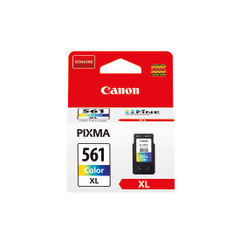 View more details about Canon CLI-561XL Tri-Colour Ink Cartridge - High Capacity 3730C001